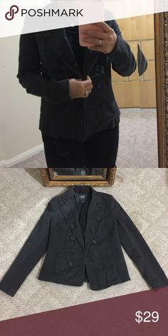 Armani exchange gray vests Used in good condition Armani Exchange Jackets & Coats Trench Coats