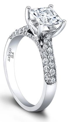 the tatiana diamond engagement ring by jeff cooper via diamonds in the library