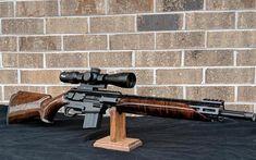 Ares SCR with wood furniture Weapons Guns, Airsoft Guns, Guns And Ammo, Tactical Rifles, Firearms, Shotguns, Custom Guns, Fire Powers, Military Guns