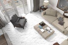 Order Olympus Olympus - Ergostasio Luxury Stone White / delivered right to your door. Luxury Kitchen Design, Luxury Kitchens, Kitchen Designs, Kitchen Ideas, Marble Look Tile, Grand Kitchen, Cement Color, Mid Century Bathroom, Granite Flooring