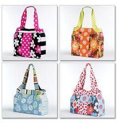 Handbag Sewing Pattern McCalls 6335, Summer handbag, Handbags, Bags