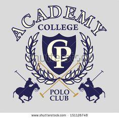 College Polo Player Vector Art - 151126748 : Shutterstock