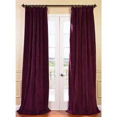 solid deep purple drapes rod pocket - Yahoo Search Results Yahoo Image Search Results