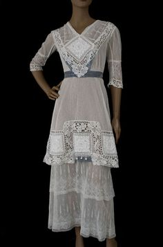 Edwardian tea dress #1910s