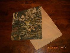 Mossy Oak burp cloths