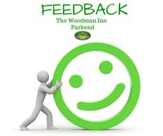 More Feedback - Thank You.  Very friendly staff and locals.Sat in the bar area. Good choice of food on menu and specials board. Large serving of good quality products. Apple and cider sausages with onion gravy, mash and seasonal veg. Yummy. Visited for lunch, not sure if same menu for dinner. Well worth a visit in a lovely location. #thewoodmaninn #forestofdean #feedback www.thewoodmanparkend.co.uk