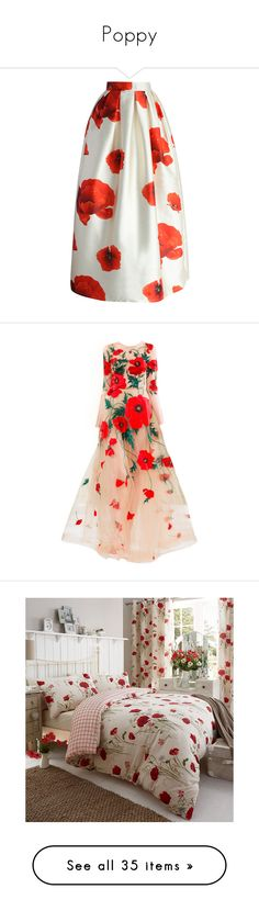 """""""Poppy"""" by glowk1t ❤ liked on Polyvore featuring skirts, bottoms, floral, chicwish, white, flower maxi skirt, pleated maxi skirt, white pleated maxi skirt, flower print skirt and white floral maxi skirt"""
