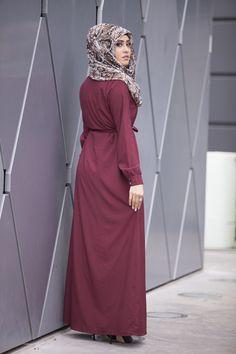 Siena Maxi Dress- Burgundy - Verona Collection  - 2