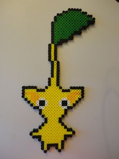 hama beads Yellow Pikmin