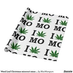 Weed Leaf Christmas missouri xmas hanukkah party