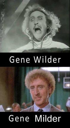 I love the celebrity name puns....