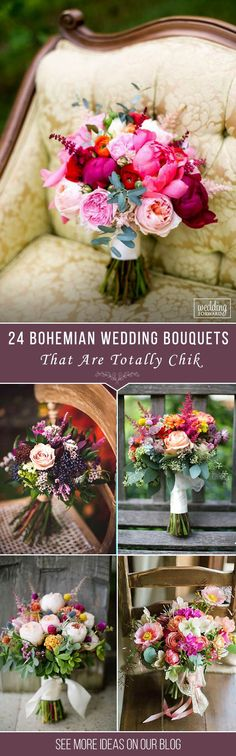 24 Bohemian Wedding Bouquets That Are Totally Chic❤ Bohemian wedding bouquets are full of whimsical details, wild flowers and feathers. This inspiration gallery of boho-chic wedding bouquets is sure to create a amazing vibe. See more: http://www.weddingforward.com/bohemian-wedding-bouquets/ ‎‎#wedding #bouquets #weddingbouquets