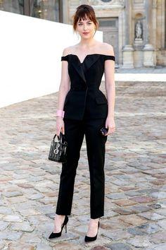 Dakota made her Paris Fashion Week debut this season. At Dior no less. Lucky girl, huh?