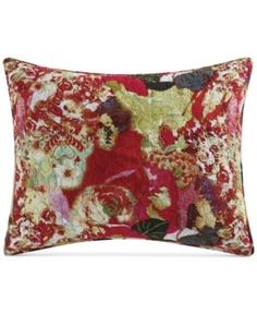 Tracy Porter Wild Flowers Quilted Standard Sham - Multi