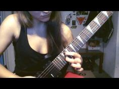 Issabelth Przysiezniak: CoB-Sixpounder solo by Iss   I don't have much time to play recently but I found out that it doesn't kill my skills as much as I was thinking it does :) It's 90% of th song's speed though. I played it in 100% on another video some time ago: http://ift.tt/2ferjT0... Recorded with Nokia Lumia 1020 front camera. Amp: Line6 Spider IV 15W CoB-Sixpounder solo by Iss Issabelth Przysiezniak