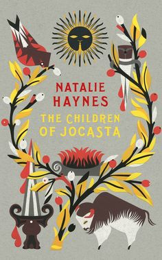 Natalie Haynes book cover design nice illustration