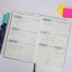 Showing you around my blogging bullet journal - www.christina77star.co.uk