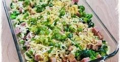 Ingredients:  4-6 cups very small broccoli flowerets, blanched about 2 minutes, then drained well.  1-2 cups diced ham (1/2 – 1 lb.)  ...