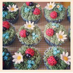 Ladybird Cupcakes - Beanie's Bakery