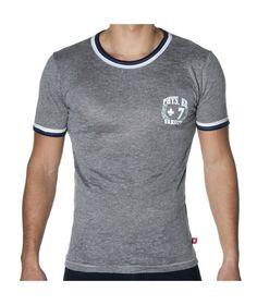 Andrew Christian Skinny Core Varsity Ringer T-Shirt