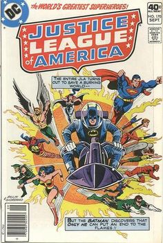 Cover for Justice League of America (DC, 1960 series) #170