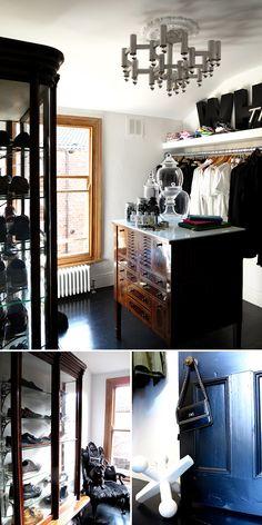 Dream Dressing room via Door Sixteen Room Closet, Master Closet, Closet Space, Door Sixteen, Sweet Home, Dream Closets, Luxury Interior Design, Interior Ideas, Spare Room