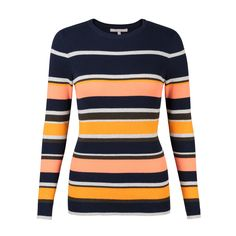 Buy the Lenny Striped Rib Jumper at Oliver Bonas. Enjoy free worldwide standard delivery for orders over £50.
