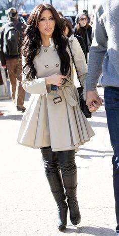 1000 Images About Moda Invierno On Pinterest Kim Kardashian Winter Fashion And Casual