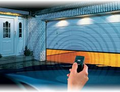 Operate your #garagedoor with just a finger click!