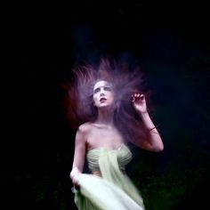 Ghostly portrait by Helen Warner on Flickr