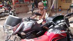 The Bison Rider Of Maharashtra Nagar Bandra East ,, Shot For Magic Eye ,,
