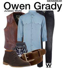 Inspired by Chris Pratt as Owen Grady in 2015's Jurassic World.