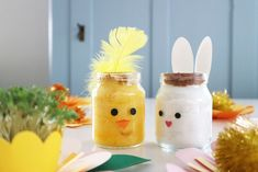 karse_kanin_denkreativesky_2 Diy And Crafts, Crafts For Kids, Art Corner, Graduation Invitations, Diy For Kids, Free Food, Projects To Try, Easter, Homemade