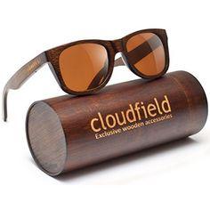 dd41195355b Amazon.com  WOODIES Wayfarer Walnut Wood Sunglasses with Polarized Lenses   Clothing
