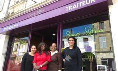 Le restaurant Saveurs Métisses à Lormont, géré par quatre femmes membres de l'association Grains d'initiatives, offre des spécialités africa...
