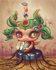 brain, Yoko D'holbachie. I adore this.