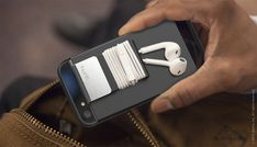 Cling is an iPhone 5 case that does more, with a detachable clip designed to keep your earbuds wrapped and wrangled. The clip nests in the case for easy cord storage, but can be attached to clothing or bags when your earbuds are in action, keeping them securely in place.