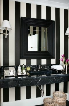 Black and white styling LOVE