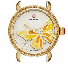 Michele Garden Party White Dial Ladies Watch (No Strap) MW05D41B0996