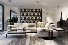 Divani B&B Italia presso lacasa interior design a mendrisio. Soggiorno design. Tappeti CC-Tapis. Divano B&B canton Ticino.