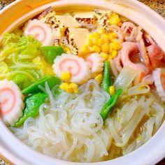 麺は糸こんにゃくでダイエット - 18件のもぐもぐ - 味噌ラーメン鍋 by mariko703