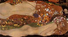 Gustav Klimt, Water Serpents II, 1907