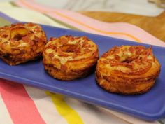 As seen on The Kitchen: Grilled Cheese Croissant Donut (Cheesy Bacon Croissonut)