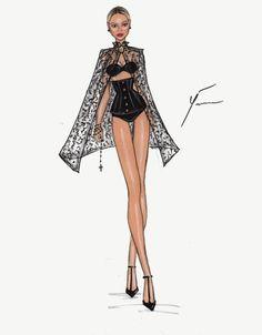 Great Beyonce Collection by Yigit Ozcakmak:Heaven Lingerie Illustration, Fashion Illustration Dresses, Illustration Vector, Illustration Mode, Fashion Model Sketch, Fashion Design Sketchbook, Fashion Design Drawings, Fashion Sketches, Fashion Art