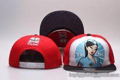 Tokidoki Snapback Hats Visor under Logo 3666
