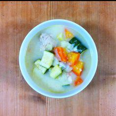 Fresh chicken stew
