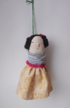 Art doll decoration by maidolls on Etsy,