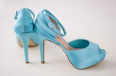 sapato de noiva sapato de casamento azul tiffany luana zabot