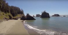 Last but not least, you can explore the park's very own Secret Beach. This secluded cove is hidden from sight - and it's truly jaw dropping. Oregon Beaches, Oregon Coast, Pacific Coast, West Coast, Wonderful Places, Great Places, Places To See, Oregon Washington, Hidden Beach