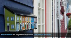 Best Christmas gift idea - must have! Jellybean Row houses!